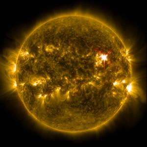 Вспышка на Солнце 29.03.14